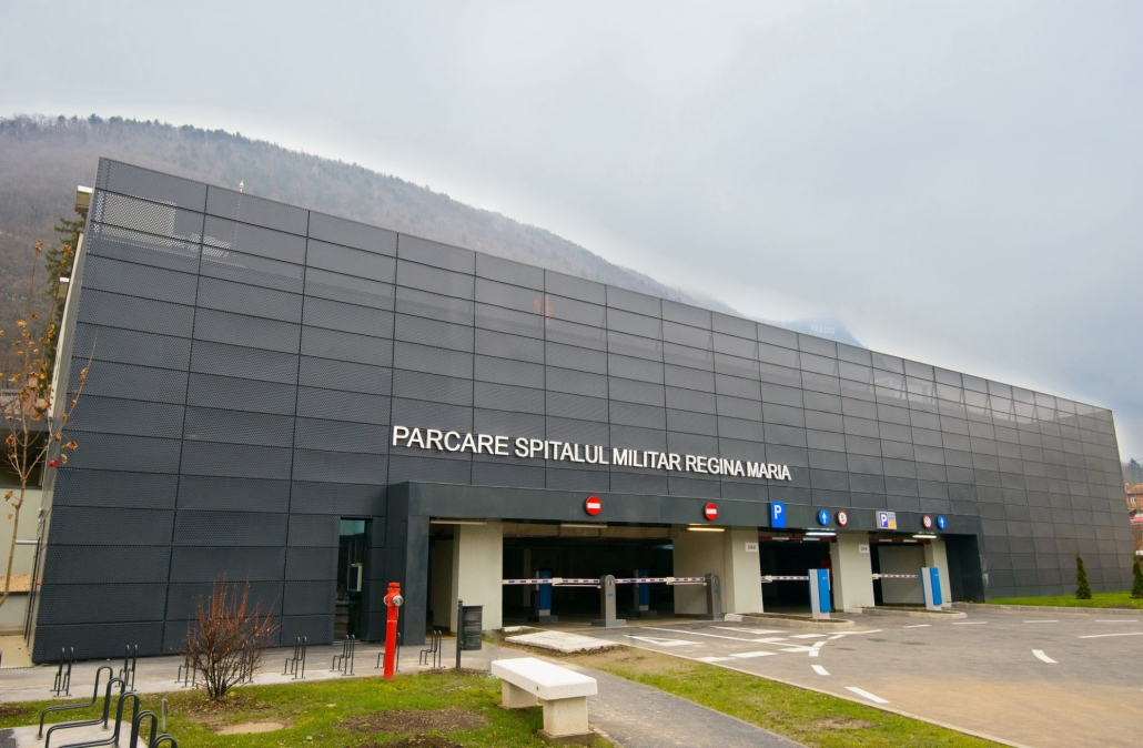 Spitalul Militar Regina Maria, sistem de parcare, Parcare Brasov